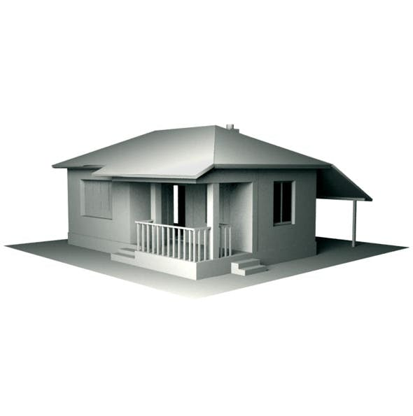 Small House - 3DOcean Item for Sale