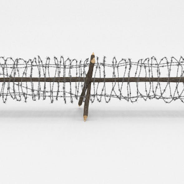 Barb Wire Obstacle 4