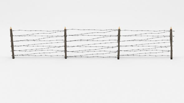 Barb Wire Obstacle 8 - 3DOcean Item for Sale