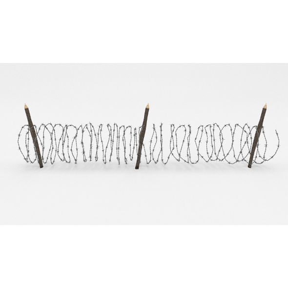 Barb Wire Obstacle 10