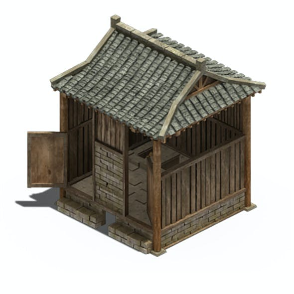 Ancient Chinese architecture - toilet