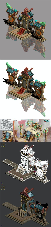Religion - the door of magic - 3DOcean Item for Sale