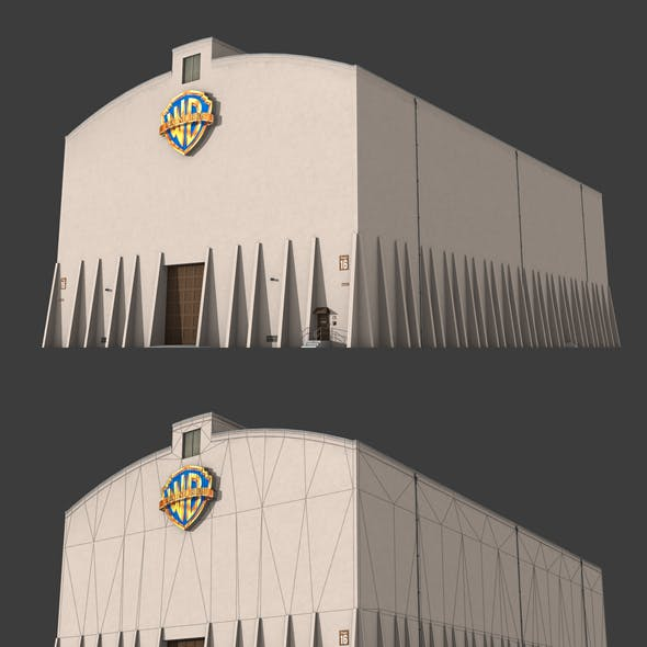 Warner Brother's Sound Stage Building