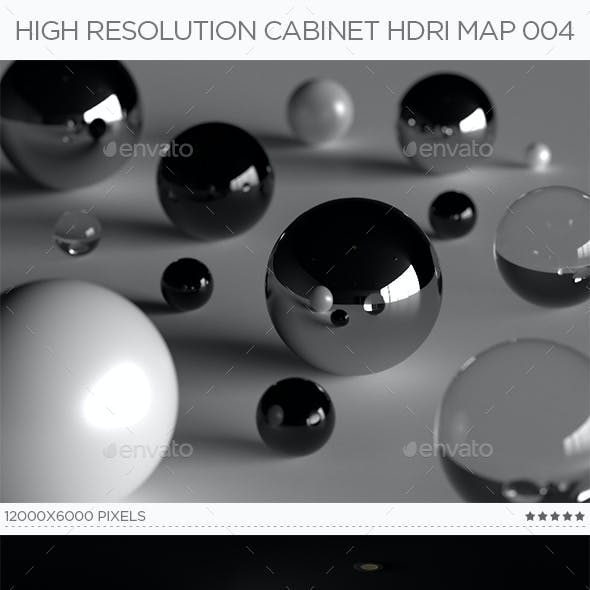 High Resolution Cabinet HDRi Map 004