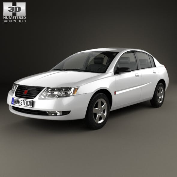 Saturn Ion 2004 - 3DOcean Item for Sale