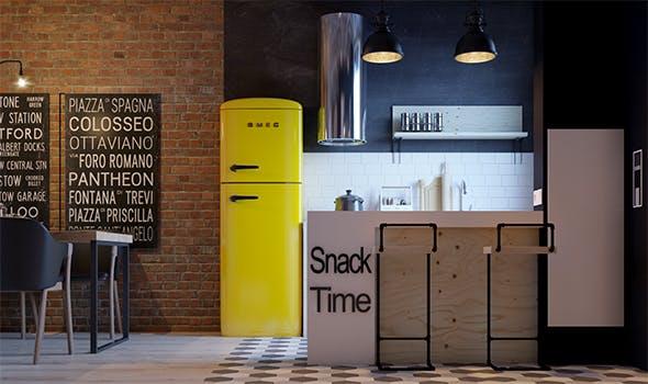 Loft apartment - 3DOcean Item for Sale
