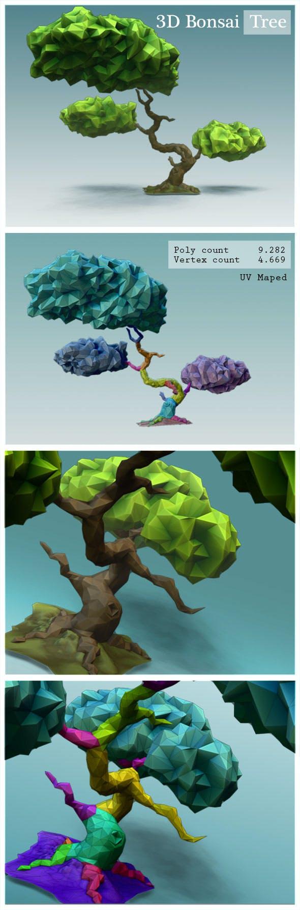 Bonsai Tree - 3DOcean Item for Sale