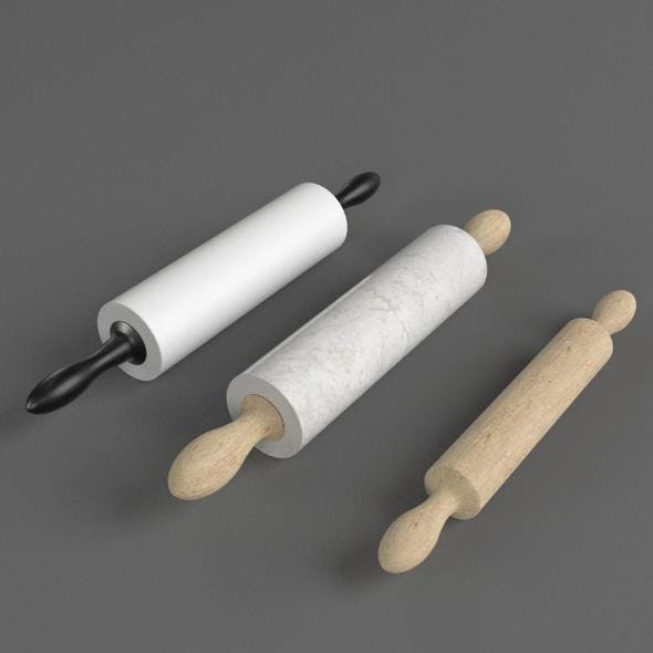 Rolling Pins - 3DOcean Item for Sale