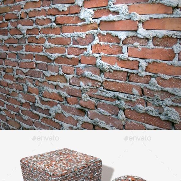 Extremely Bad Brickwork Seamless Texture