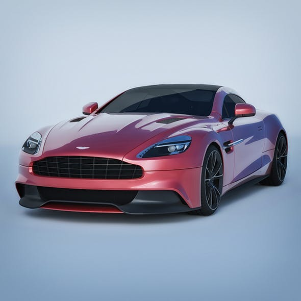 Vray Ready Aston Martin AM 310 - 3DOcean Item for Sale