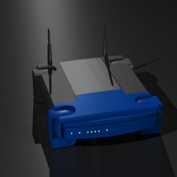 Wireless Broadband Network Router
