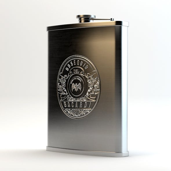 Alcohol Hip Flask Stainless Steel