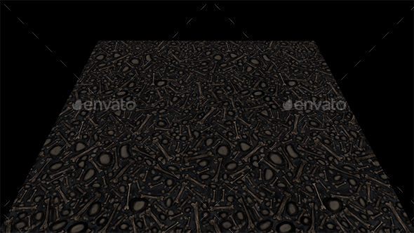 Bones texture tile - 3DOcean Item for Sale