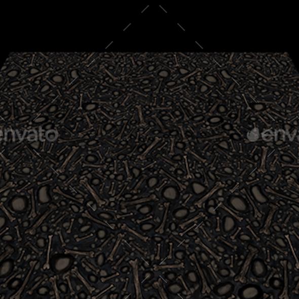 Bones texture tile