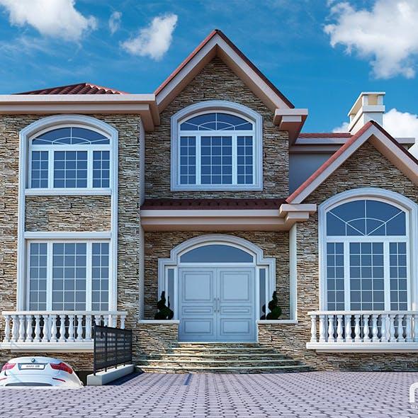 Villa - 3DOcean Item for Sale