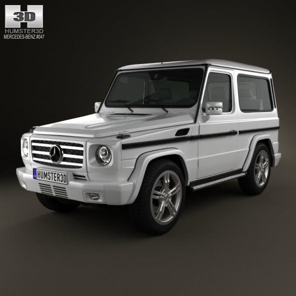 Mercedes-Benz G-Class 3-door 2011 - 3DOcean Item for Sale
