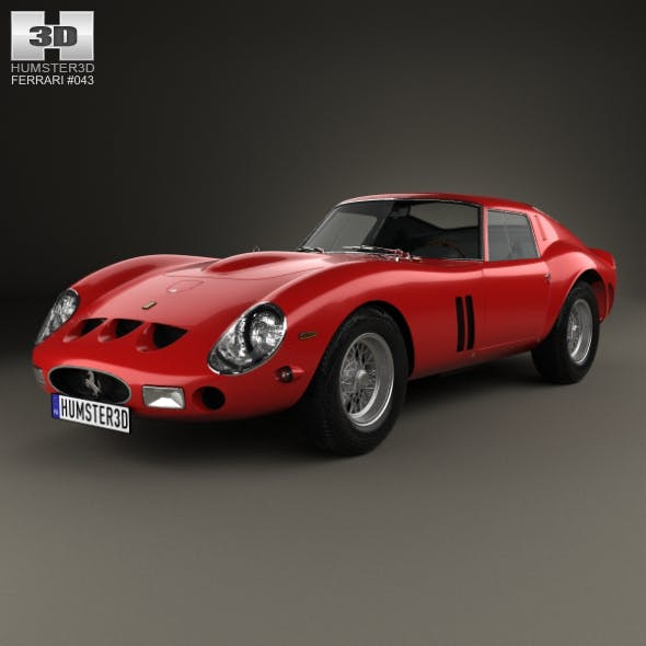 Ferrari 250 GTO (Series I) with HQ interior 1962 - 3DOcean Item for Sale