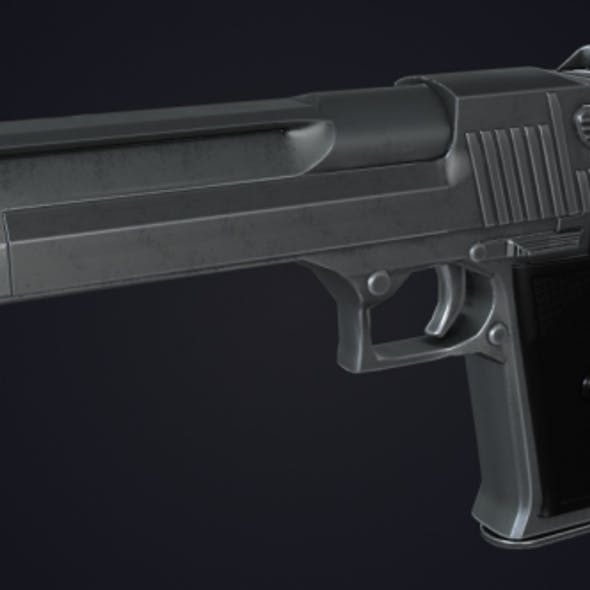 Low-Poly Desert Eagle