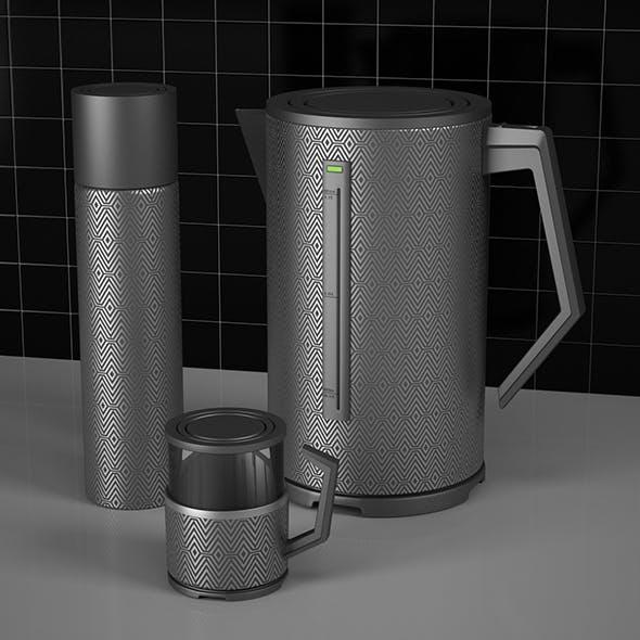 Teapot Thermos Mug