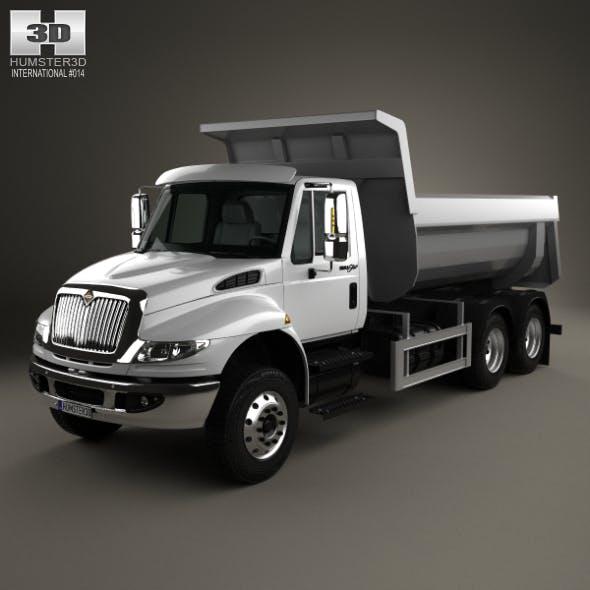 International DuraStar Dump Truck 3-axle 2002