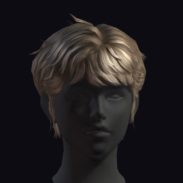 Hair 11 - 3DOcean Item for Sale