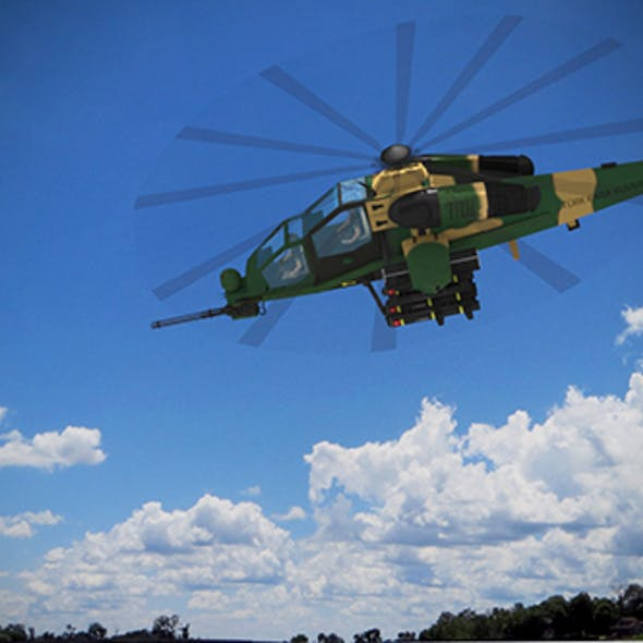 Atak  T-129 Helicopter