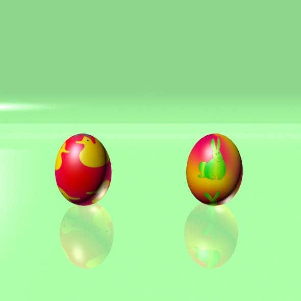 Easter Eggs Set 06