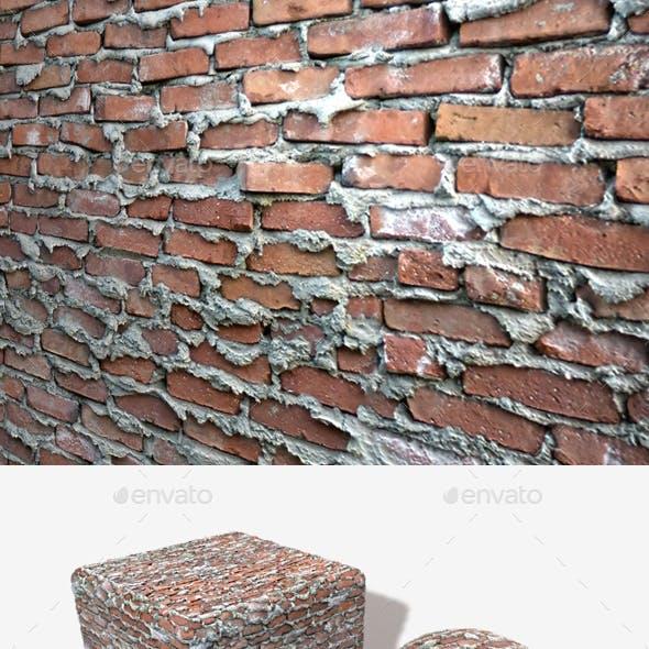 Extremely Bad Brickwork Seamless Texture 2