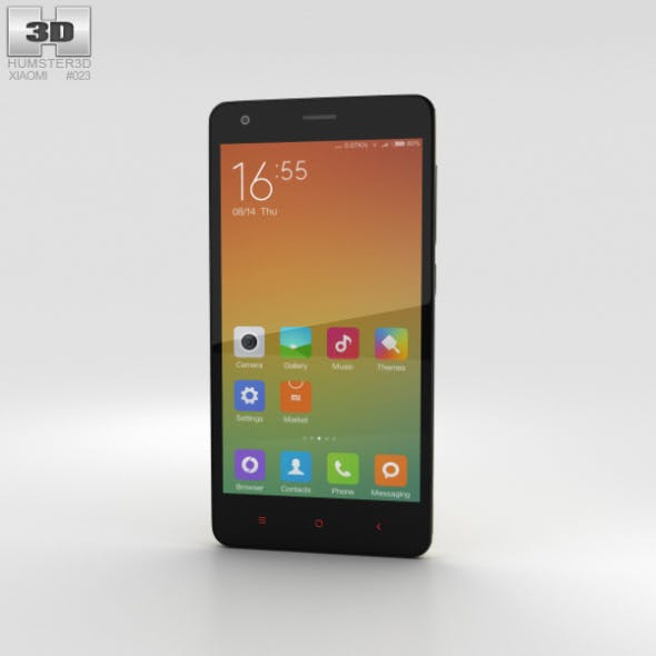 Xiaomi Redmi 2 Yellow - 3DOcean Item for Sale
