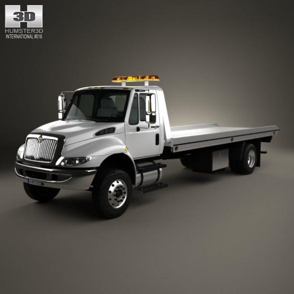 International DuraStar Tow Truck 2002 - 3DOcean Item for Sale