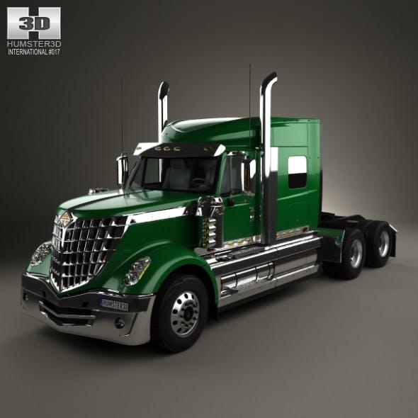 International LoneStar Tractor Truck 2008 - 3DOcean Item for Sale
