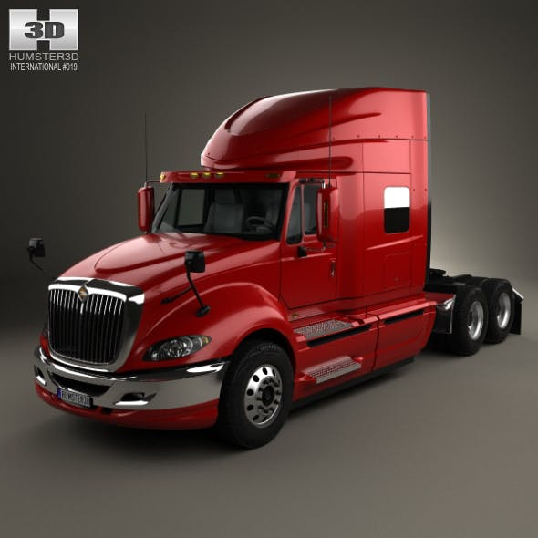 International ProStar Tractor Truck 2009 - 3DOcean Item for Sale