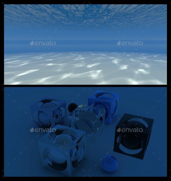 Underwater 5 - HDRI - 3DOcean Item for Sale