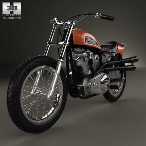 Harley-Davidson XR 750 1970 - 3DOcean Item for Sale