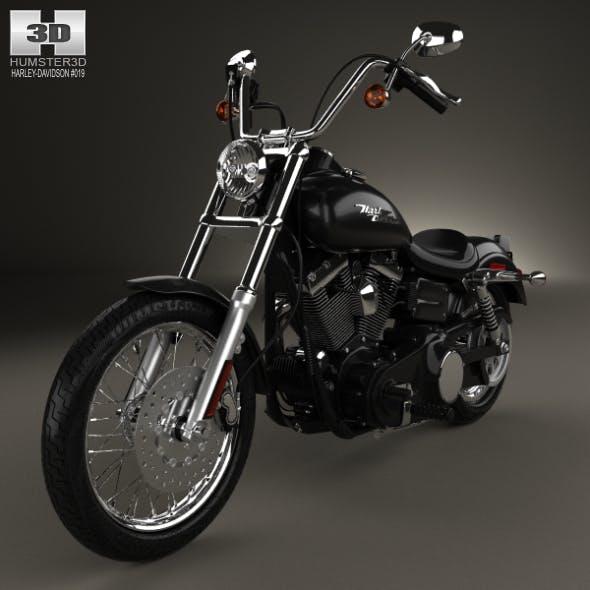Harley-Davidson FXDB Dyna Street Bob 2006