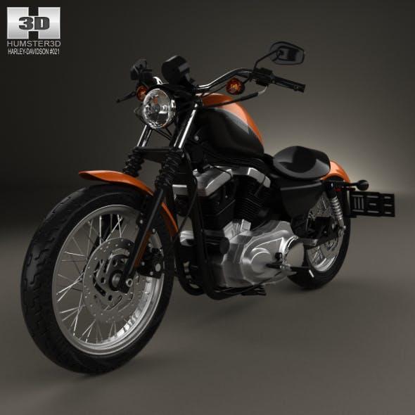 Harley-Davidson Sportster XL 1200 N Nightster 1986