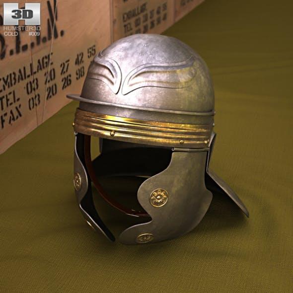 Roman Legionnaire Helmet - 3DOcean Item for Sale
