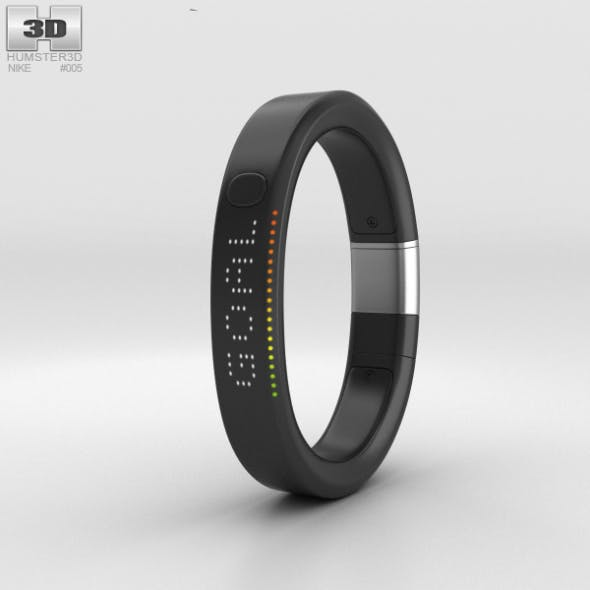 Nike+ FuelBand SE Metaluxe Limited Silver Edition - 3DOcean Item for Sale
