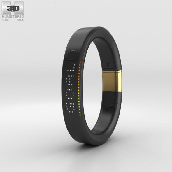 Nike+ FuelBand SE Metaluxe Limited Yellow Gold Edition - 3DOcean Item for Sale
