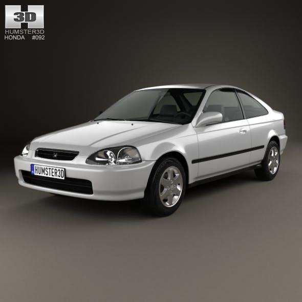 Honda Civic coupe 1996