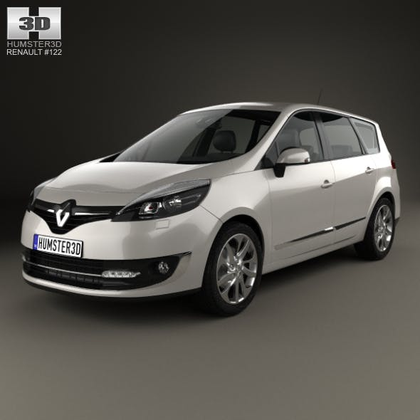 Renault Grand Scenic 2014 - 3DOcean Item for Sale