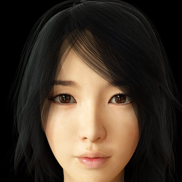 Realistic Asian Beauty
