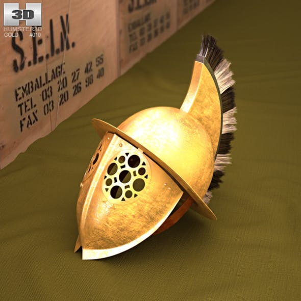 Thracian Gladiator Helmet