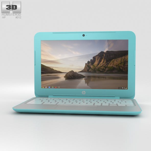 HP Chromebook 11 G3 Ocean Turquoise - 3DOcean Item for Sale