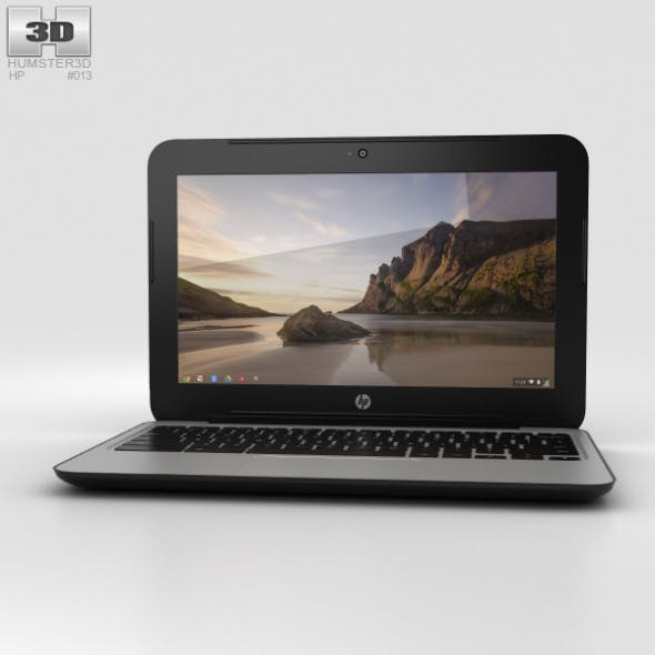 HP Chromebook 11 G3 Twinkle Black - 3DOcean Item for Sale