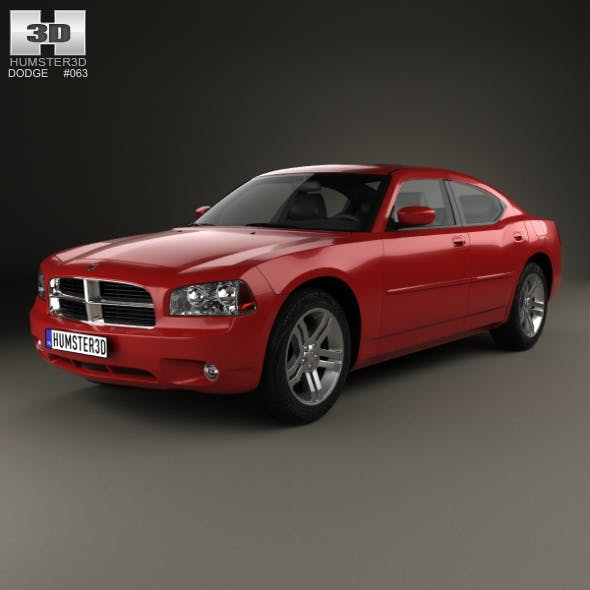 Dodge Charger (LX) 2006 - 3DOcean Item for Sale