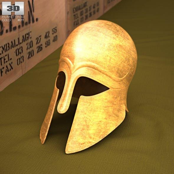 Corinthian Helmet - 3DOcean Item for Sale
