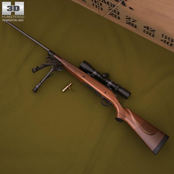 Remington Model 700 - 3DOcean Item for Sale