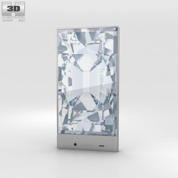 Sharp Aquos Crystal White