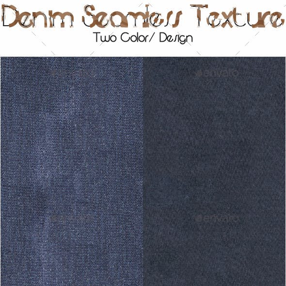 Denim Seamless Texture